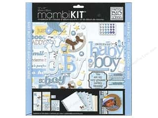 "Chipboard MAMBI Kit Scrapbook: Me&My Big Ideas Kit Scrapbook 12""x 12"" That's My Boy"