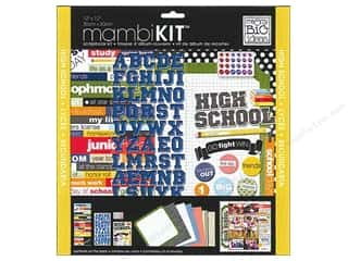 MAMBI Kit Scrapbook 12x12 High School