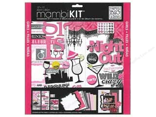 "Chipboard MAMBI Kit Scrapbook: Me&My Big Ideas Kit Scrapbook 12""x 12"" Girls Night Out"