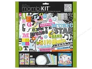 DieCuts with a View Weekly Specials: Me & My Big Ideas 12 x 12 in. Scrapbook Kit Music Star