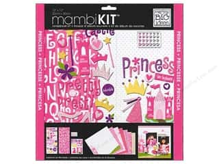 "Sisters Crafting Kits: Me&My Big Ideas Kit Scrapbook 12""x 12"" Little Princess"
