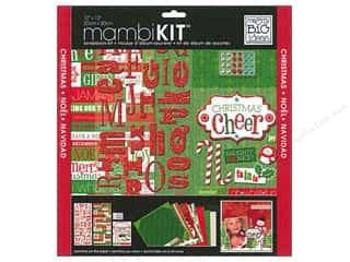 MAMBI Kit Scrapbook 12x12 Christmas Cheer