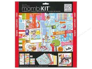 "Children Crafting Kits: Me&My Big Ideas Kit Scrapbook 12""x 12"" A Kid Like Me Kids Want To Have Fun"