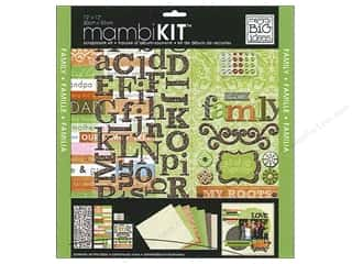 "Me&My Big Ideas Kit Scrapbook 12""x 12"" Love My Family Swirl"