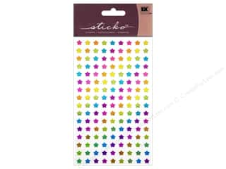 Theme Stickers / Collection Stickers: EK Sticko Stickers Rainbow Stars