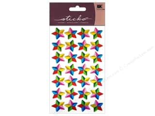 EK Sticko Stickers Colorful Stars