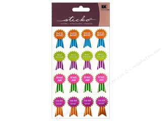 Back To School EK Sticko Stickers: EK Sticko Stickers Award Ribbons