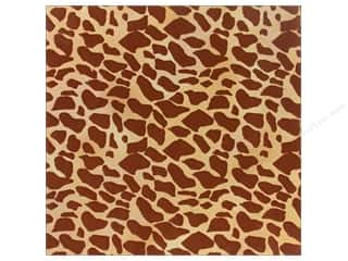 Hot Off The Press Paper Flocked Giraffe (25 piece)