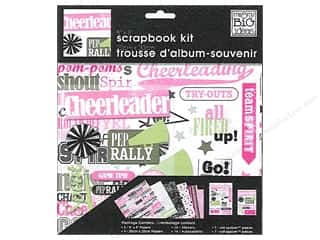 "Me&My Big Ideas Kit Scrapbook 8""x 8"" Cheerleading"