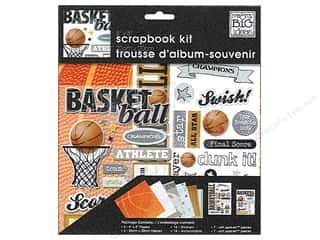 "Me&My Big Ideas Kit Scrapbook 8""x 8"" Basketball"