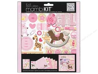 MAMBI Kit Scrapbook 8x8 It's A Girl
