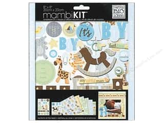 MAMBI Kit Scrapbook 8x8 It's A Boy