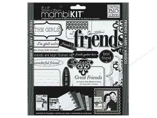 MAMBI Kit Scrapbook 8x8 LBD Friends