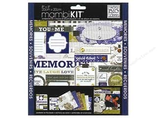 "Me&My Big Ideas Kit Scrapbook 8""x 8"" Cape Cod Memories"