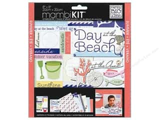 MAMBI Kit Scrapbook 8x8 At The Ocean