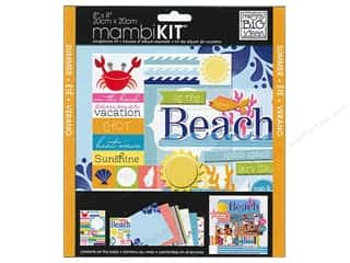 MAMBI Kit Scrapbook 8x8 Splish Splash