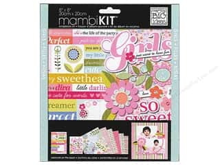 "Me&My Big Ideas Kit Scrapbook 8""x 8"" Girls So Sweet"