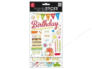 MAMBI Sticker Flip Pack Happy Birthday