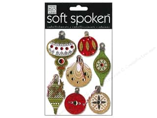 MAMBI Sticker Soft Spoken Holiday Ornaments