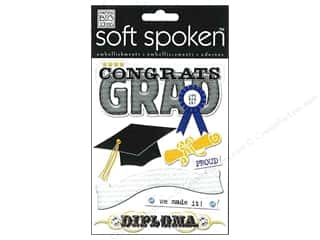 Dads & Grads Back To School: Me&My Big Ideas Sticker Soft Spoken Congrats Grad