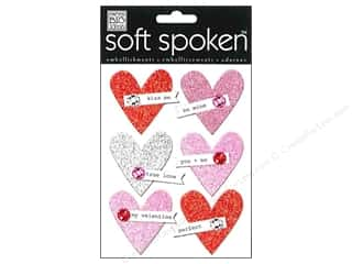 MAMBI Sticker Soft Spoken Love Birds Glit Hearts
