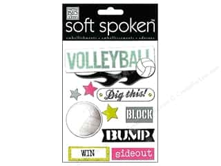 2013 Crafties - Best Adhesive: MAMBI Sticker Soft Spoken Volleyball Block Bump