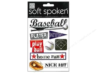 2013 Crafties - Best Adhesive: MAMBI Sticker Soft Spoken Baseball Play Ball