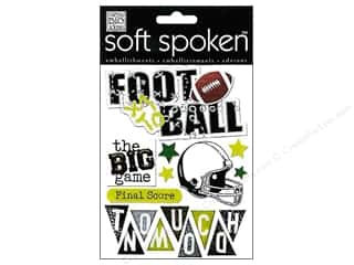 2013 Crafties - Best Adhesive: MAMBI Sticker Soft Spoken Football Touchdown