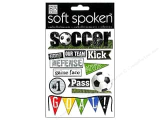 MAMBI Sticker Soft Spoken Soccer Kick