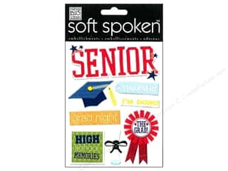 Me & My Big Ideas: MAMBI Sticker Soft Spoken Senior Rule The School