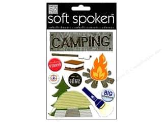 Outdoors Felting: Me&My Big Ideas Sticker Soft Spoken Camping Smores