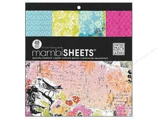 MAMBI Sheets Cdstk Pad 12x12 Special Watercolor
