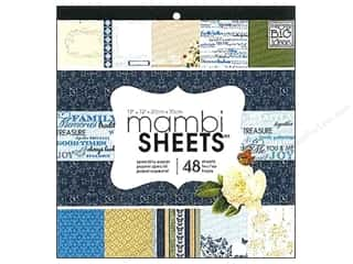 MAMBI Sheets Cdstk Pad 12x12 Special Sophis Family