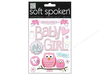 Felting 13 in: Me&My Big Ideas Sticker Soft Spoken Baby Girl Animals