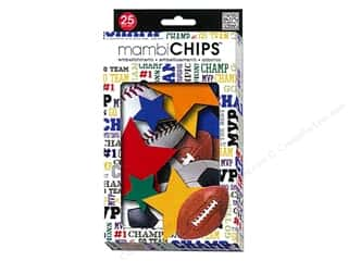 Chipboard Chipboard Embellishments: Me&My Big Ideas Chipboard Embellishment Banner Sports