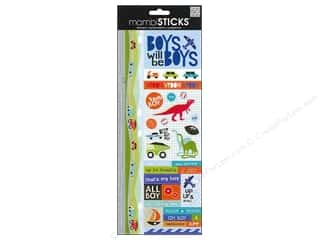 MAMBI Sticker Sticks Totally Boy