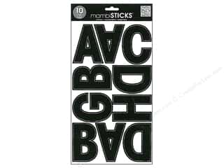 ABC & 123 MAMBI Sticker: Me&My Big Ideas Sticker Banner Alpha Euro Mode Black