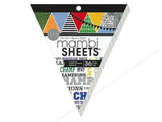 MAMBI Sheets Cardstock Banner Pad 8 in. Champs