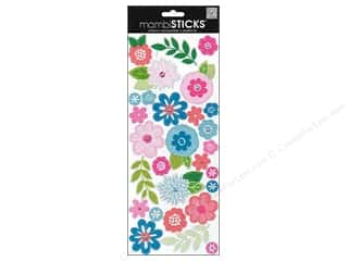 Me & My Big Ideas Sparkle Sale: Me&My Big Ideas Sticker Fashion Flowers