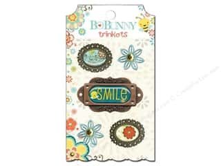 Rubber Stamping Sale: Bo Bunny Trinkets 5 pc. Hello Sunshine