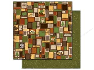 Bo Bunny Paper 12x12 Camp A Lot Squares (25 piece)