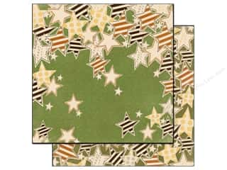 fall sale aunt lydia: Bo Bunny Paper 12x12 Camp A Lot Falling Stars (25 piece)