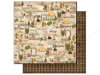 Bo Bunny Paper 12x12 Camp A Lot In The Woods (25 piece)