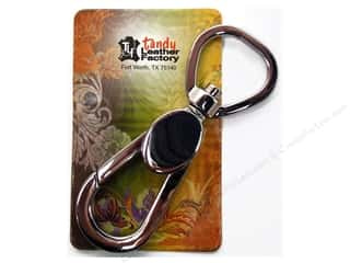 "Leather Factory Leather Factory Hardware: Leather Factory Hardware Spring Swivel Snap 3/4"" Loop Eye"