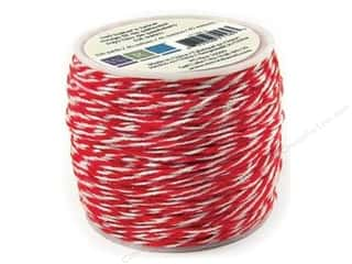 Clearance We R Memory Sew Ribbon Ribbon: We R Memory Baker's Twine Sew Easy Red 50yd