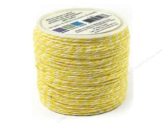 Craft Embellishments $50 - $80: We R Memory Baker's Twine Sew Easy Yellow 50yd