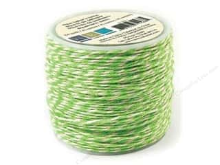 Clearance We R Memory Sew Ribbon Ribbon: We R Memory Baker's Twine Sew Easy Green 50yd