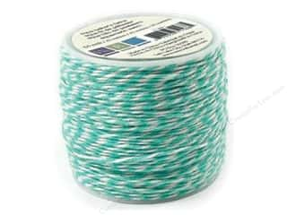 Craft Embellishments $50 - $80: We R Memory Baker's Twine Sew Easy Aqua 50yd