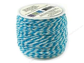 Clearance We R Memory Sew Ribbon Ribbon: We R Memory Baker's Twine Sew Easy Blue 50yd