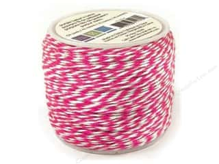 Clearance We R Memory Sew Ribbon Ribbon: We R Memory Baker's Twine Sew Easy Pink 50yd